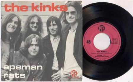 THE KINKS Apeman / Rats 1970 French 7""