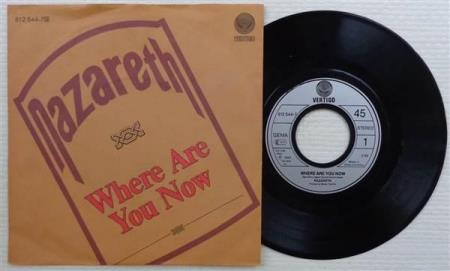 NAZARETH Where Are You Now 1983 German 7""