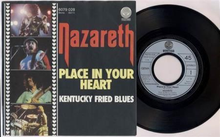NAZARETH Place In Your Heart 1977 German 7""