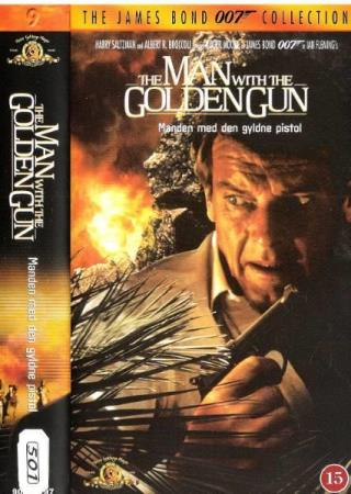 ROGER MOORE.-THE MAN WITH THE GOLDEN .-JAMES BOND 007.-NR 9.