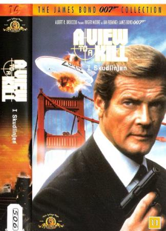 ROGER MOORE.-A VIEW TO A KILL .-JAMES BOND 007.-NR 14.