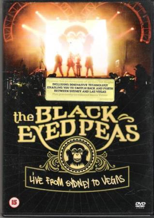 THE BLACK EYED PEAS.-LIVE FROM SYDNEY TO VEGAS.-2006.