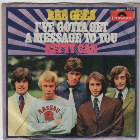 Bee Gees/Ive gotta get a message to you - norsk