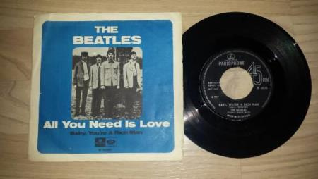 BEATLES - ALL YOU NEED IS LOVE / BABY, YOU´RE A RICH MAN