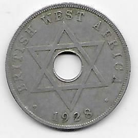 British West-Africa 1 penny 1928