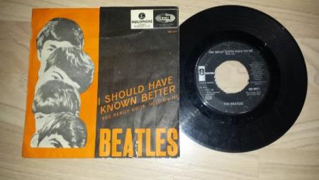 BEATLES - I SHOULD HAVE KNOWN BETTER / YOU REALLY GOTTA HOLD