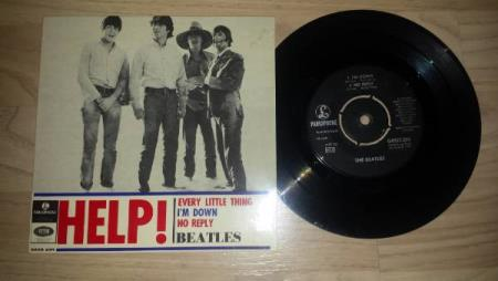 BEATLES - EP - HELP / I´M DOWN / NO REPLY / EVERY LITTLE THI