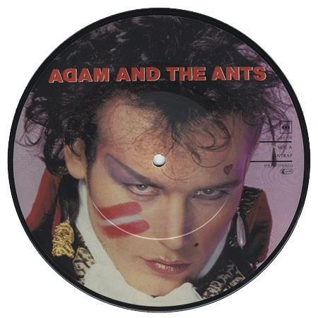 """ADAM AND THE ANTS Antrap 1981 UK 7"""" picture-disc"""