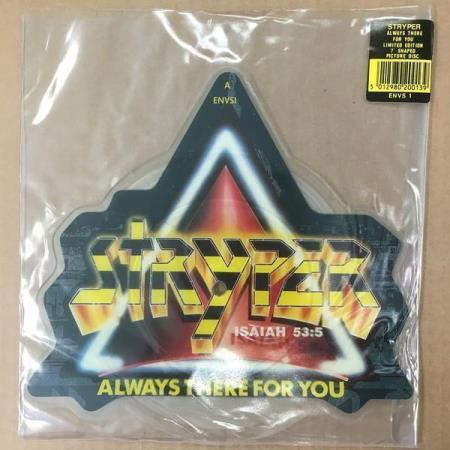 "STRYPER Always There For You 2011 UK 12"" picture-disc"