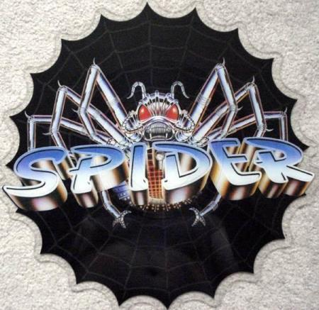 """SPIDER Here We Go Rock N Roll 1984 UK 12"""" picture-disc"""