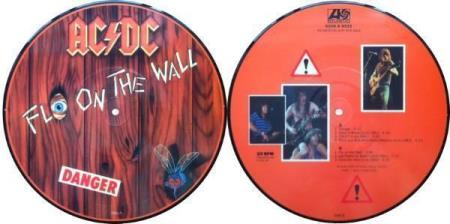 """AC/DC Danger 10"""" picture-disc EP"""