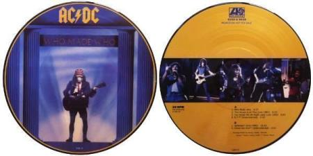"""AC/DC Who Made Who  10"""" picture-disc EP"""