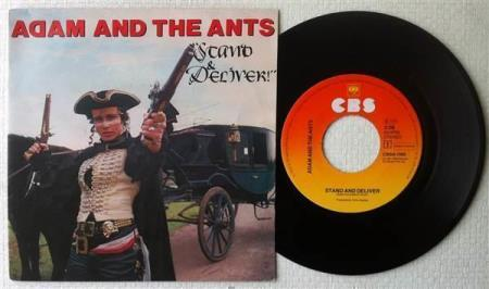 ADAM & THE ANTS Stand And Deliver 1981 Dutch 7""