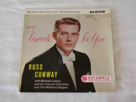RUSS CONWAY - MY CONCERTO FOR YOU  EP MED 4 NUMRE