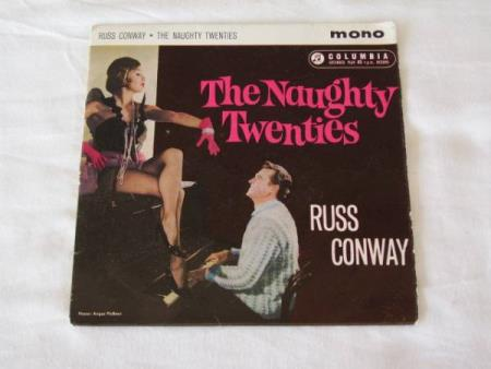 RUSS CONWAY - THE NAUGHTY TWENTIES EP MED 4 NUMRE