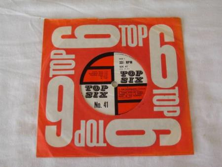 TOP 6 NO 41  EP MED 4 NUMRE VARIOUS ARTISTS