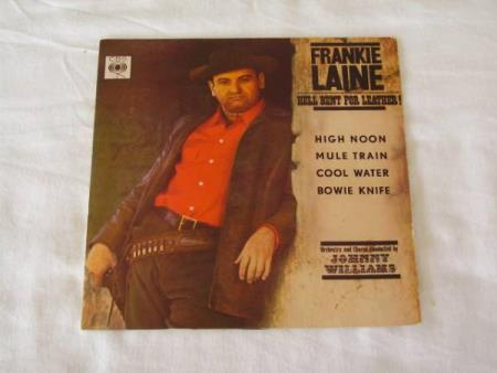 FRANKIE LAINE - HELL BENT FOR LEATHER EP MED 4 NUMRE
