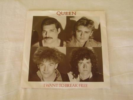 QUEEN - I WANT TO BREAK FREE / MACHINES