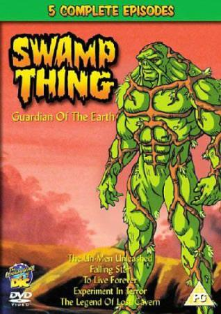 SWAMP THING - GUARDIAN OF THE EARTH (ANIMATION) (DVD)