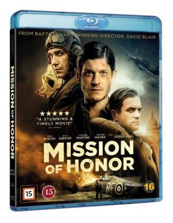 MISSION OF HONOR (2018) (KRIGSFILM) (BLU-RAY)