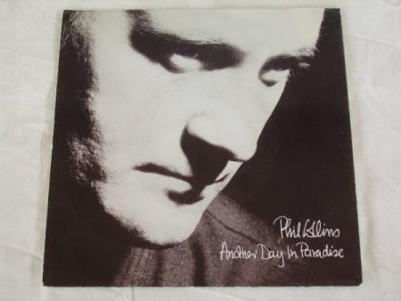 PHIL COLLINS - ANOTHER DAY IN PARADISE / HEAT ON THE STREET