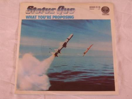STATUS QUE - WHAT YOURE PROPOSING / A B BLUES