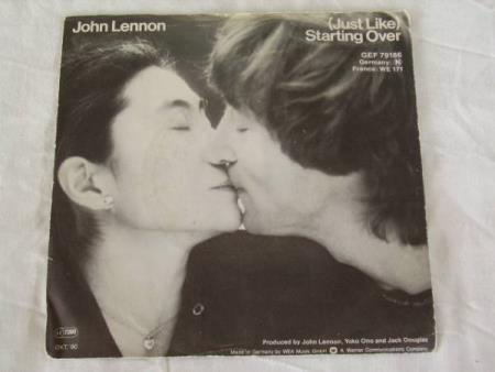 JOHN LENNON - KISS KISS KISS / STARTING OVER