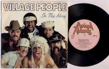 VILLAGE PEOPLE In The Navy 1979 Swedish 7""