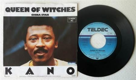 """KANO Queen Of Witches 1983 German 7"""""""