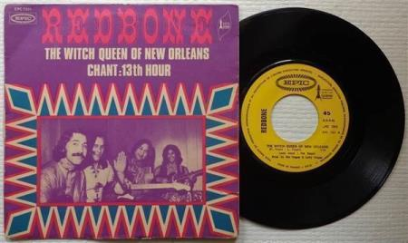"""REDBONE The Witch Queen Of New Orleans 1971 French 7"""""""