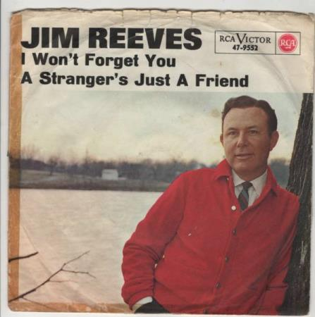 Jim Reeves/I wont forget you - tysk