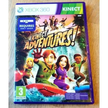 Kinect Adventures! (PAL) - Xbox 360