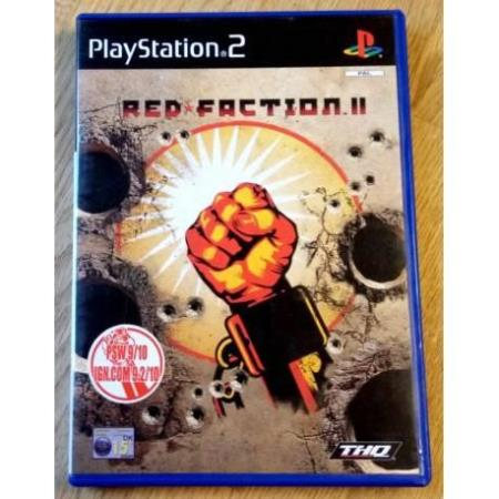 Red Faction II (THQ) - Playstation 2
