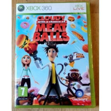 Cloudy with a Chance of Meatballs (Ubisoft) - Xbox 360