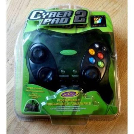 Xbox: Cyber Pad 2 Programmable Control