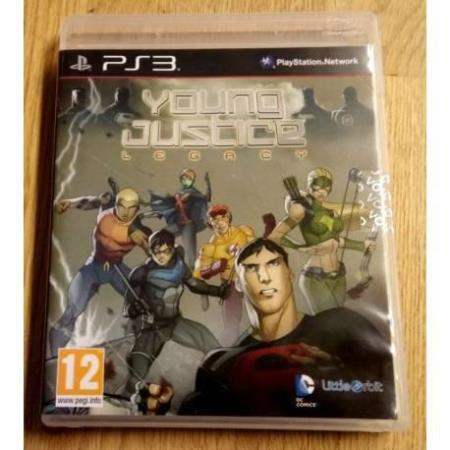 Young Justice - Legacy (DC Comics) - Playstation 3
