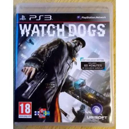Watch Dogs (Ubisoft) - Playstation 3