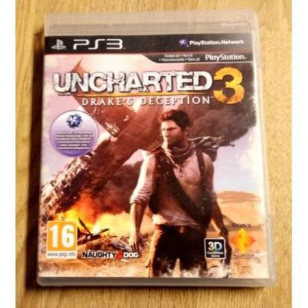 Uncharted 3 - Drakes Deception (Naughty Dog) - PS3