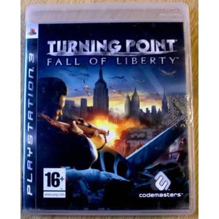 Turning Point: Fall of Liberty (Codemasters) - Playstation 3