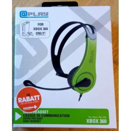 Xbox 360 - Chat Headset - Play Gaming Accessories