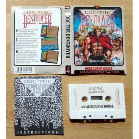 Doc the Destroyer (Melbourne House) - Commodore 64 / 128