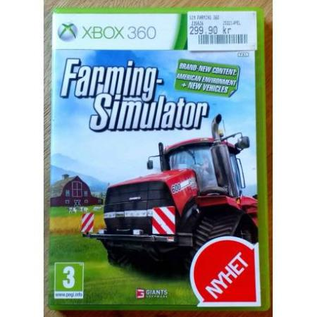 Farming Simulator (Giants Software) - Xbox 360