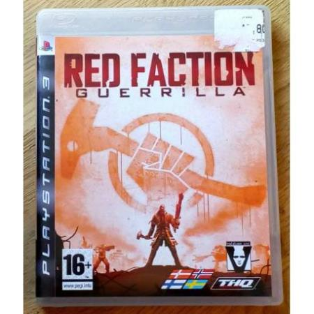 Red Faction Guerrilla (THQ) - Playstation 3