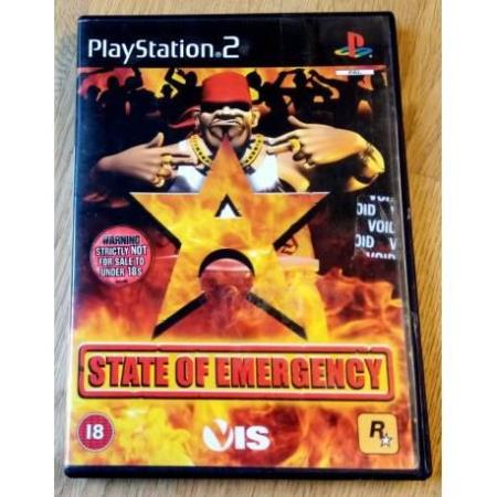 State of Emergency (Rockstar Games) - Playstation 2