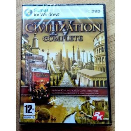 Civilization IV - Complete - Med GOTY - PC