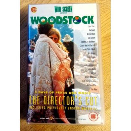 Woodstock - 3 Days of Peace and Music - 2 x VHS