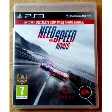 Need for Speed Rivals - Includes the Ultimate Cop Pack - PS3