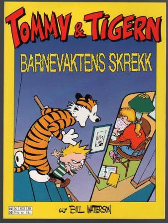 TOMMY & TIGERN ALBUM 1993NR8KVALITET:VF