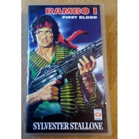 Rambo I - First Blood (VHS)