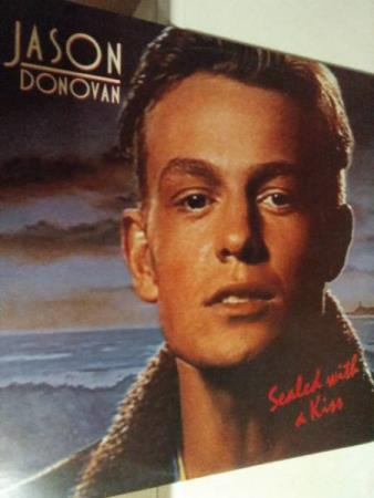 Jason donovan. Sealed with a kiss. 1989.